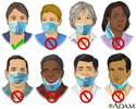 How to wear a face mask to prevent the spread of COVID-19